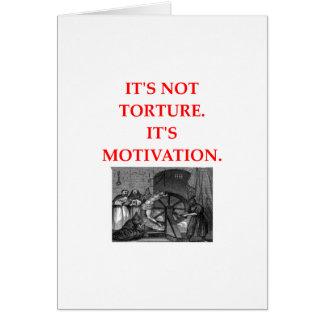 TORTURE CARD