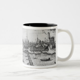 Torun, Poland Two-Tone Coffee Mug