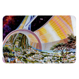 Torus Space Station Habitat Colony Artist Concept Magnet