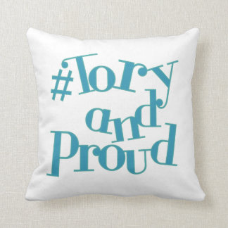 Tory and Proud Throw Pillow