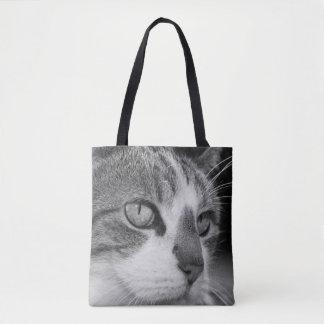 Tosca cat tote bag