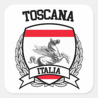 Toscana Square Sticker