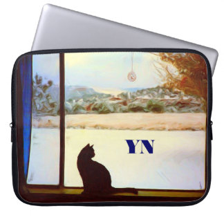 Tosca's Winter Window Computer Sleeves