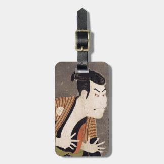 Toshusai_Sharaku Bag Tag