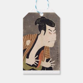 Toshusai_Sharaku Gift Tags