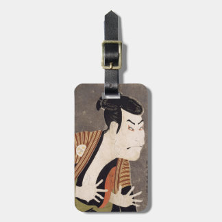 Toshusai_Sharaku Luggage Tag