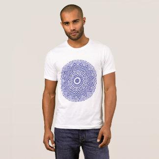 Toss about Mandala (blue) T-Shirt