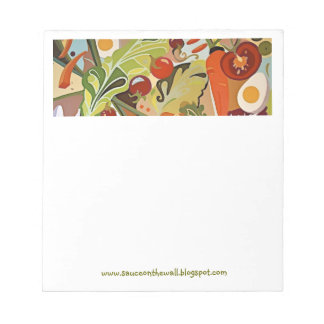 tossed salad notepad