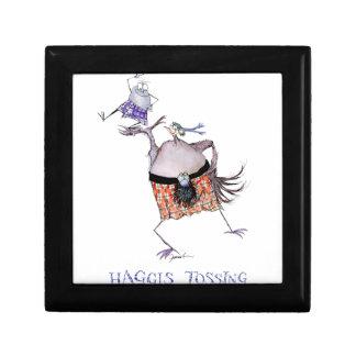 tossing the haggis gift box