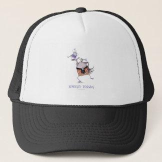 tossing the haggis trucker hat