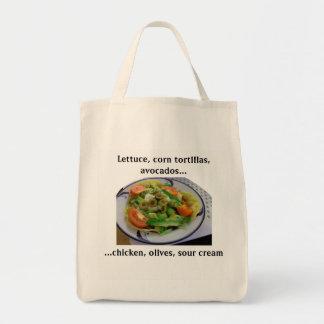 Tostada Salad Grocery List