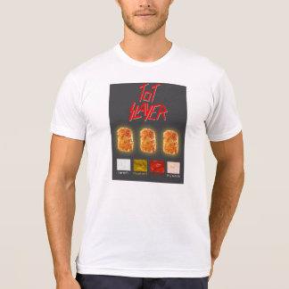 Tot Slayer Black Background T-Shirt