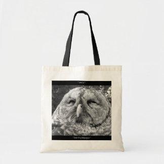 Totable Art by Metaphorphosis ~ barred owl Tote Bag