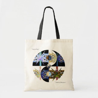 Totable Art by Metaphorphosis ~ through & through Tote Bag