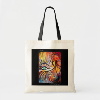Totable Art by Metaphorphosis ~ Vivid Roots Tote Bag