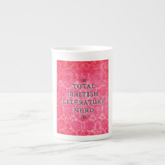 Total British Literature Nerd bone china mug