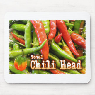 Total Chile Head Mouse Pad