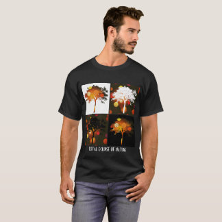 Total Eclipse of Nature; stages of tree w lights T-Shirt