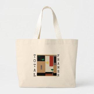 Total Framer Jumbo Tote Bag
