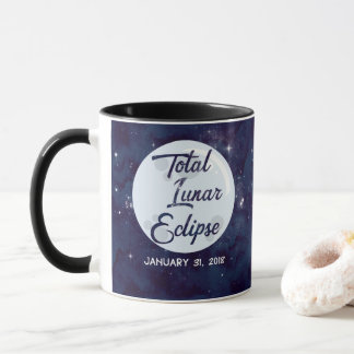 Total Lunar Eclipse 2018 Coffee Mug