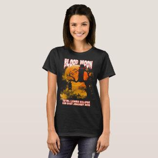 Total Lunar Eclipse USA  Vampire Blood Moon T-Shirt