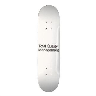 Total Quality Management Skateboard Decks
