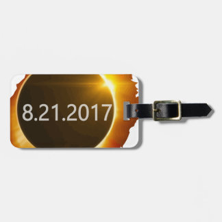 Total-Solar-Eclipse2 Luggage Tag