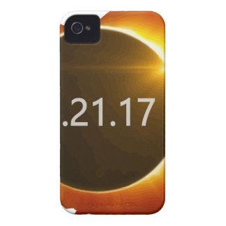 Total-Solar-Eclipse3 iPhone 4 Case-Mate Case