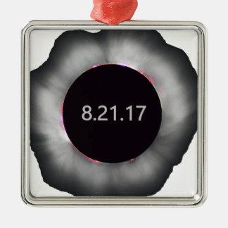 Total-Solar-Eclipse5 Metal Ornament