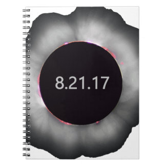 Total-Solar-Eclipse5 Spiral Notebook