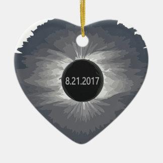 Total-Solar-Eclipse9 Ceramic Ornament