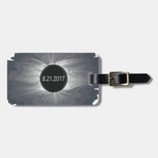 Total-Solar-Eclipse9 Luggage Tag