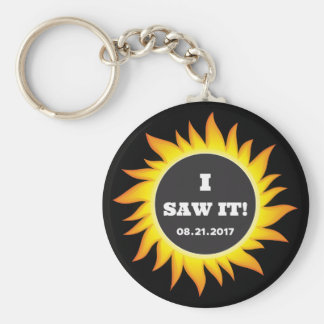 Total Solar Eclipse - 08.21.2017 Keychain