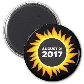 Total Solar Eclipse - 08.21.2017 Magnet