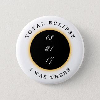 Total Solar Eclipse 2017 2 Inch Round Button