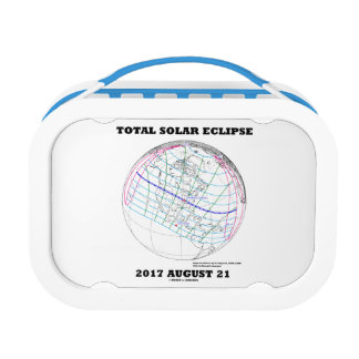 Total Solar Eclipse 2017 August 21 North America Lunch Boxes