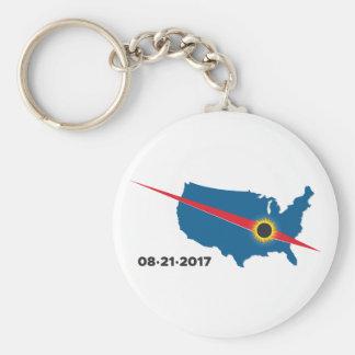 Total Solar Eclipse - 2017 - I saw it! Basic Round Button Keychain