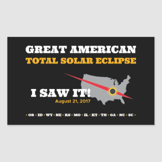 Total Solar Eclipse - 2017 - I saw it! Sticker