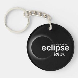 Total Solar Eclipse 2017 - Iowa Keychain