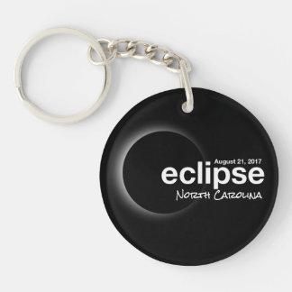 Total Solar Eclipse 2017 - North  Carolina Keychain
