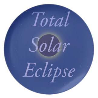 Total Solar Eclipse 2017 Plate