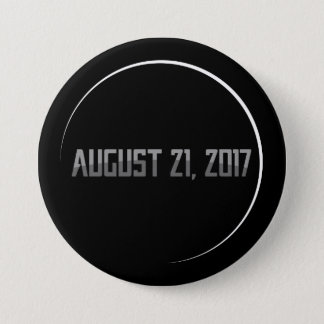 Total Solar Eclipse 2017 Round Button
