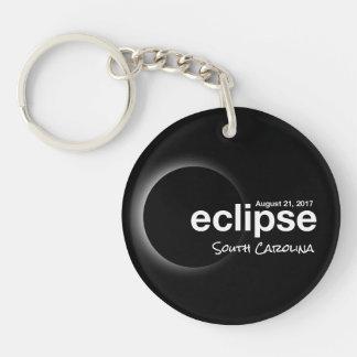 Total Solar Eclipse 2017 - South Carolina Keychain