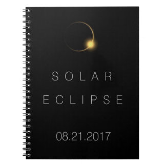Total Solar Eclipse 2017 Spiral Notebook