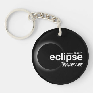 Total Solar Eclipse 2017 - Tennessee Keychain