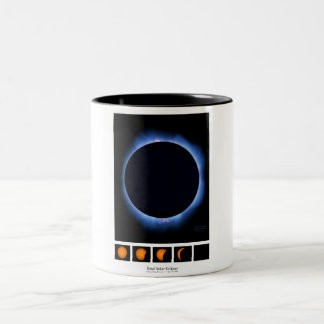 Total Solar Eclipse 2017 Two-Tone Coffee Mug