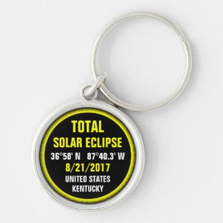 Total Solar Eclipse 8/21/2017 Keychain