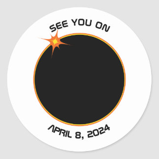 Total Solar Eclipse April 8, 2024 Sticker