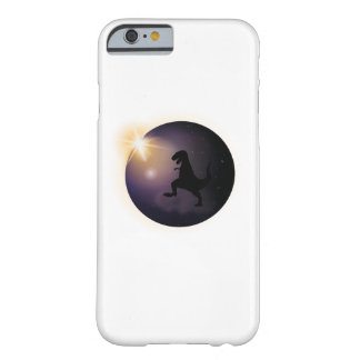 Total Solar Eclipse August2017 Funny dinosaur TRex Barely There iPhone 6 Case