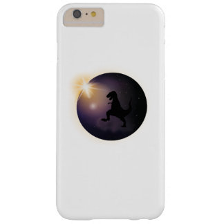 Total Solar Eclipse August2017 Funny dinosaur TRex Barely There iPhone 6 Plus Case
